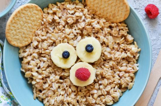So sieht gesundes Frühstück für Kinder aus